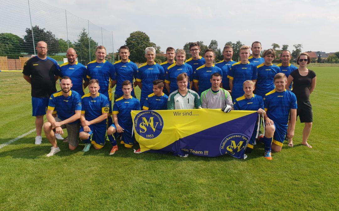 Kreisliga Nord: Malterhausener SV 1953 e.V. – SG Blau-Weiß Nudersdorf II, 8:3 (1:0)